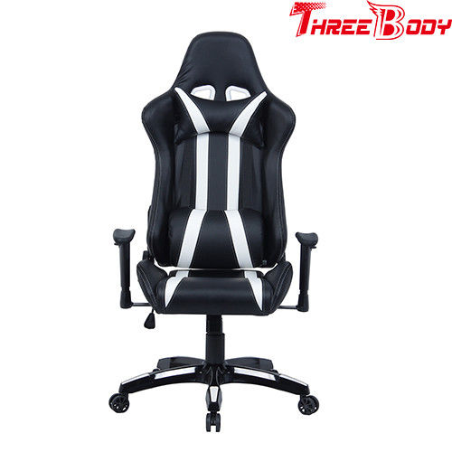 Executive High End Gaming Chair , Light Weight Racing Reclining Office Chair
