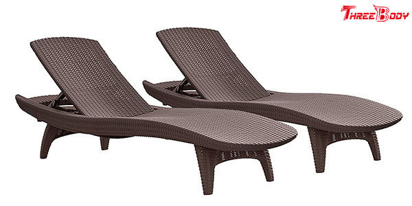 Comfortable Patio Furniture Chaise Lounge , Outdoor Furniture Pool Chaise Lounge Chairs