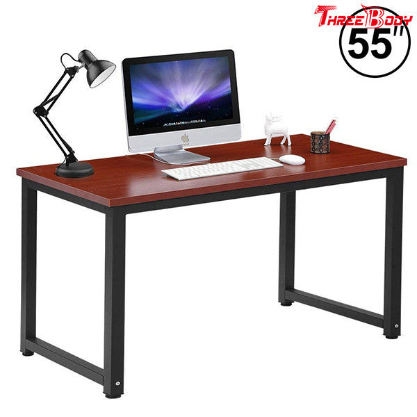 Contemporary Office Furniture Desk , Executive Office Table / Small Computer Desk
